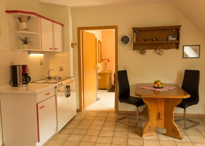 Bild des Essbereichs Ferienwohnung 2 Haus Wiesenttal