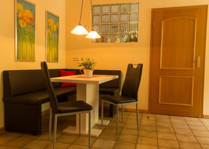 Bild Essbereich Ferienwohnung 3 Haus Wiesenttal